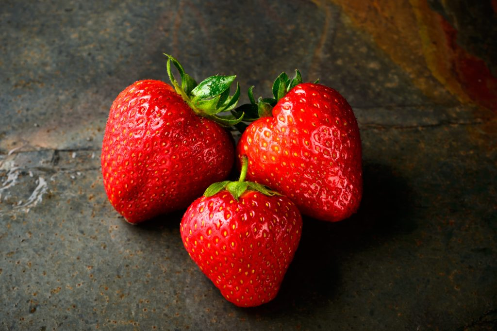 """rich results on Google's SERP when searching """"berries"""""""